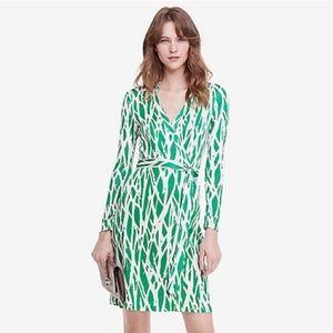 Diane Von Furstenberg 'New Jeanne Two' Silk Dress